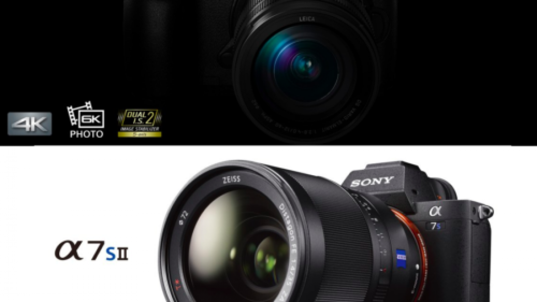 panasonic gh5 vs sony a7sii